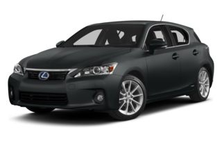 3/4 Front Glamour 2012 Lexus CT 200h