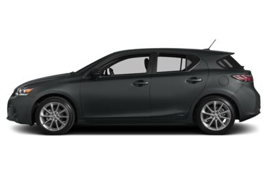 90 Degree Profile 2012 Lexus CT 200h