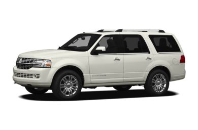 3/4 Front Glamour 2012 Lincoln Navigator