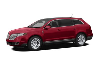 3/4 Front Glamour 2012 Lincoln MKT