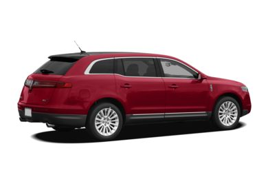 3/4 Rear Glamour  2012 Lincoln MKT