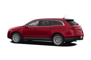 Surround 3/4 Rear - Drivers Side  2012 Lincoln MKT