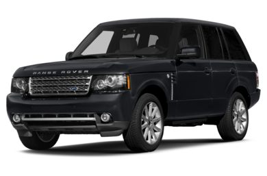 3/4 Front Glamour 2012 Land Rover Range Rover