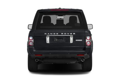 Rear Profile  2012 Land Rover Range Rover