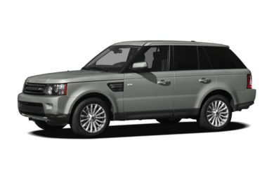 3/4 Front Glamour 2012 Land Rover Range Rover Sport