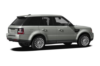 3/4 Rear Glamour  2012 Land Rover Range Rover Sport