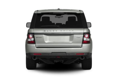 Rear Profile  2012 Land Rover Range Rover Sport