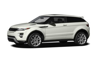 3/4 Front Glamour 2012 Land Rover Range Rover Evoque