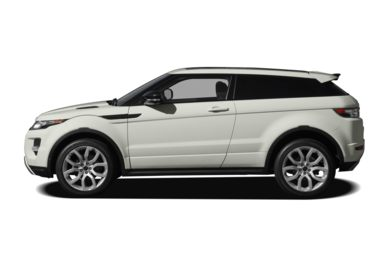 90 Degree Profile 2012 Land Rover Range Rover Evoque