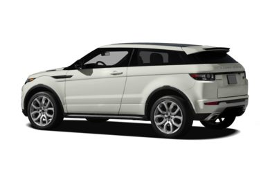 Surround 3/4 Rear - Drivers Side  2012 Land Rover Range Rover Evoque