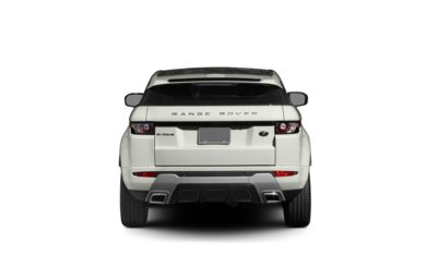 Surround Rear Profile 2012 Land Rover Range Rover Evoque