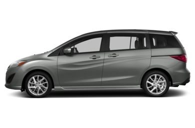 90 Degree Profile 2014 Mazda Mazda5