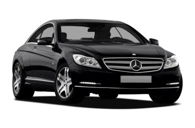 3/4 Front Glamour 2012 Mercedes-Benz CL600