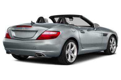 3/4 Rear Glamour  2014 Mercedes-Benz SLK350
