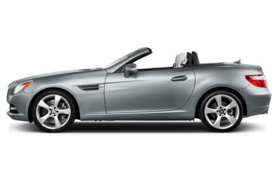 90 Degree Profile 2013 Mercedes-Benz SLK350