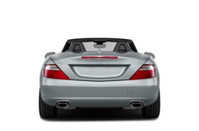 Rear Profile  2013 Mercedes-Benz SLK350