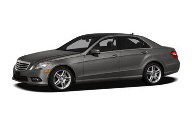3/4 Front Glamour 2012 Mercedes-Benz E350