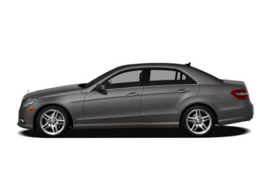90 Degree Profile 2012 Mercedes-Benz E350