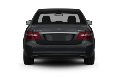 Rear Profile  2012 Mercedes-Benz E550