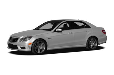 3/4 Front Glamour 2012 Mercedes-Benz E63 AMG