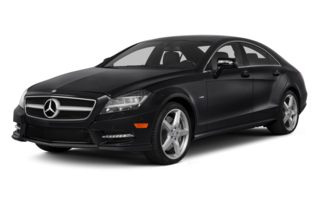 3/4 Front Glamour 2012 Mercedes-Benz CLS550