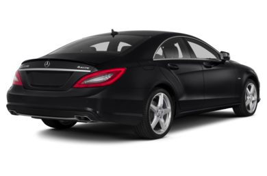 3/4 Rear Glamour  2012 Mercedes-Benz CLS550