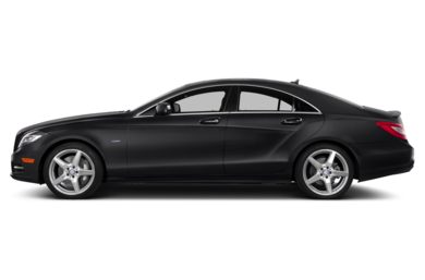 90 Degree Profile 2012 Mercedes-Benz CLS550