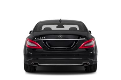 Rear Profile  2012 Mercedes-Benz CLS550