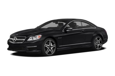 3/4 Front Glamour 2012 Mercedes-Benz CL63 AMG