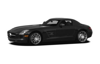 3/4 Front Glamour 2012 Mercedes-Benz SLS AMG
