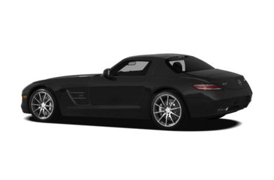 Surround 3/4 Rear - Drivers Side  2012 Mercedes-Benz SLS AMG