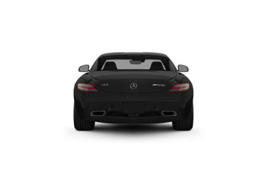 Surround Rear Profile 2012 Mercedes-Benz SLS AMG