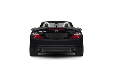 Surround Rear Profile 2012 Mercedes-Benz SLK250