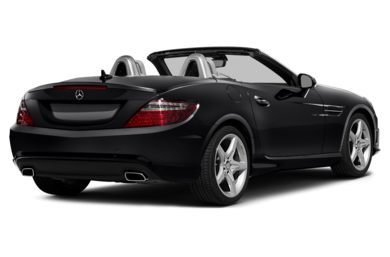 3/4 Rear Glamour  2013 Mercedes-Benz SLK250