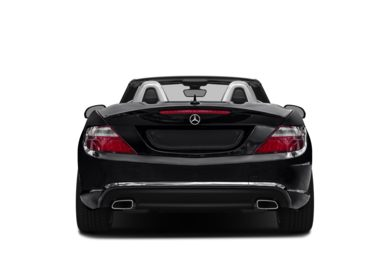 Rear Profile  2013 Mercedes-Benz SLK250
