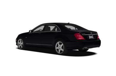 Surround 3/4 Rear - Drivers Side  2012 Mercedes-Benz S350 BlueTEC
