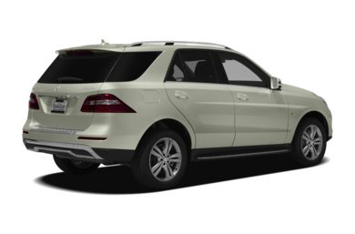 3/4 Rear Glamour  2012 Mercedes-Benz ML350