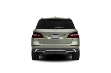 Surround Rear Profile 2012 Mercedes-Benz ML350
