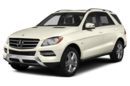 3/4 Front Glamour 2015 Mercedes-Benz ML350