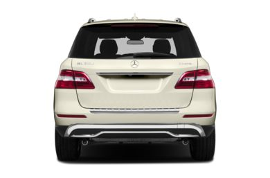 Rear Profile  2015 Mercedes-Benz ML350