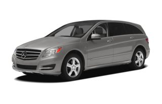 3/4 Front Glamour 2012 Mercedes-Benz R350