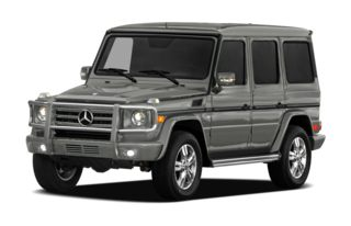 3/4 Front Glamour 2012 Mercedes-Benz G550