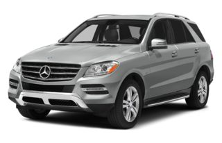 3/4 Front Glamour 2012 Mercedes-Benz ML350 BlueTEC