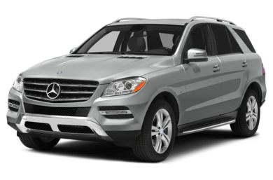 3/4 Front Glamour 2014 Mercedes-Benz ML350 BlueTEC