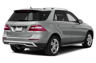 3/4 Rear Glamour  2012 Mercedes-Benz ML350 BlueTEC