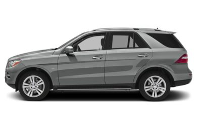 90 Degree Profile 2012 Mercedes-Benz ML350 BlueTEC