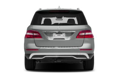 Rear Profile  2012 Mercedes-Benz ML350 BlueTEC