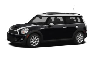 3/4 Front Glamour 2012 MINI Clubman