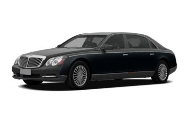 3/4 Front Glamour 2012 Maybach 57