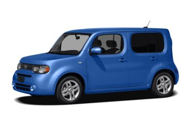 3/4 Front Glamour 2012 Nissan Cube